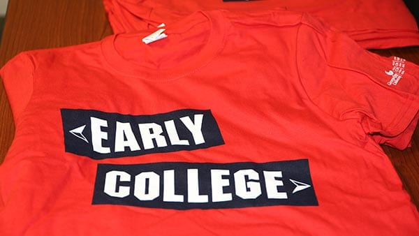 Early College t-shirt