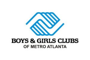 boys and girls club blue and white hands logo